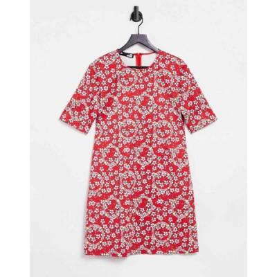 モスキーノ Love Moschino レディース ワンピース Tシャツワンピース ワンピース・ドレス Vestito Printed T-Shirt Dress
