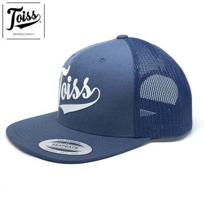 ネイマール着用【TOISS】トイスロゴスナップバックメッシュキャップ 【トイスキャップ】ブルー