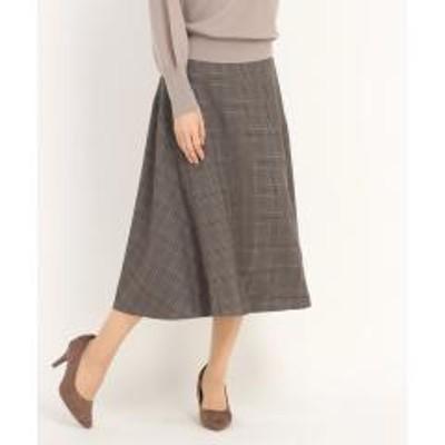 STRAWBERRY-FIELDS(ストロベリーフィールズ)コージーチェック スカート
