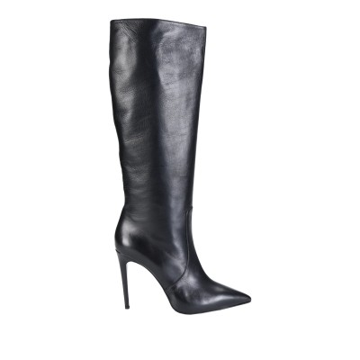 GIAMPAOLO VIOZZI ブーツ ブラック 39 山羊革 100% ブーツ