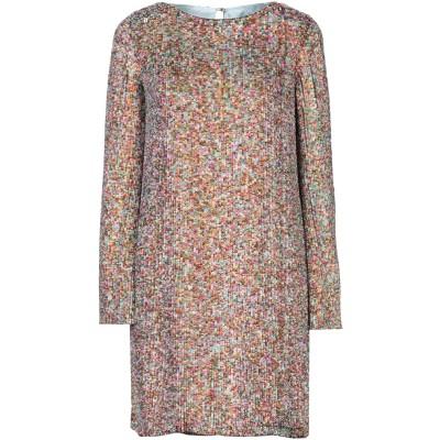 MARIT ILISON ミニワンピース&ドレス ベージュ S レーヨン 100% ミニワンピース&ドレス
