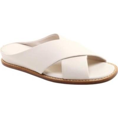 ヴィンス レディース サンダル シューズ Fairley Leather Slide Off White Memory Leather