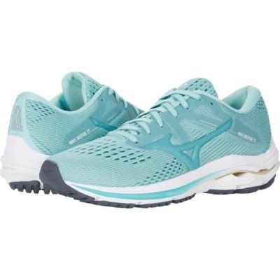 ミズノ Mizuno レディース ランニング・ウォーキング シューズ・靴 Wave Inspire 17 Eggshell Blue/Turquoise