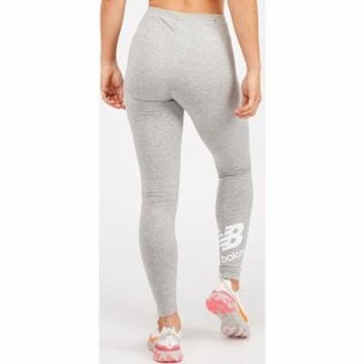 ニューバランス New Balance レディース スパッツ・レギンス インナー・下着 Essential Calf Logo Legging Grey