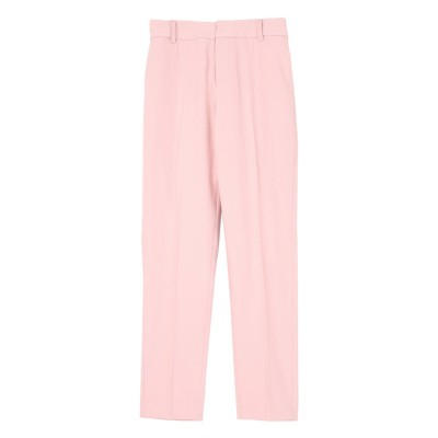 ユアーズ ur's カラースティックパンツ (ピンク)