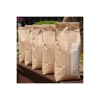 鶴岡市 ふるさと納税 【令和2年産】井上農場のはえぬき【玄米】24kg(5kg×4袋・4kg×1袋)