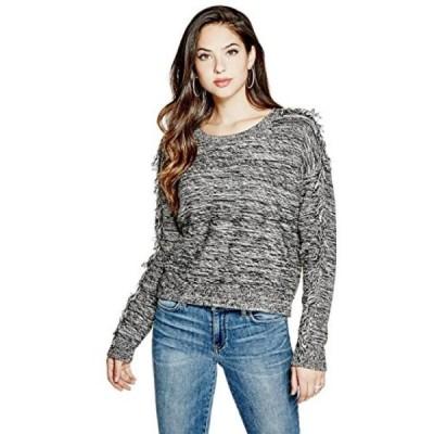 ゲス レディース セーター(プルオーバー型) GUESS Women's Yula Fringed Sweater