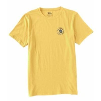 フェールラーベン メンズ シャツ トップス 1960 Logo Recycled Organic Cotton Short-Sleeve Tee Ochre