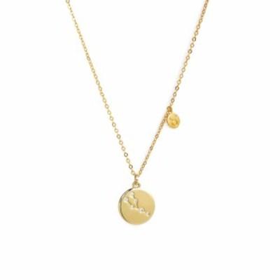 ノードストローム NORDSTROM メンズ ネックレス ジュエリー・アクセサリー Zodiac Disc Pendant Necklace Taurus Gold