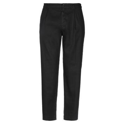 トゥルーニューヨーク TRUE NYC® パンツ ブラック 30 リネン 73% / コットン 26% / ポリウレタン 1% パンツ