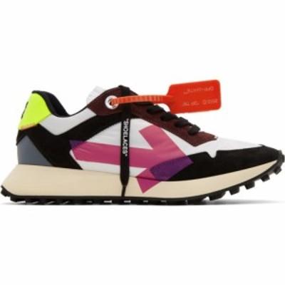 オフホワイト Off-White メンズ スニーカー シューズ・靴 multicolor arrows sneakers White/Fuchsia