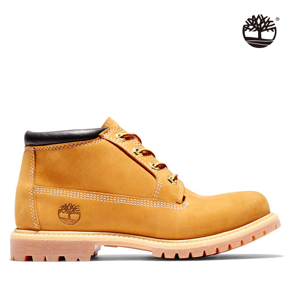 Timberland 女款小麥黃經典防水短靴|23399713