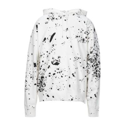 オーエーエムシー OAMC スウェットシャツ ホワイト S コットン 100% スウェットシャツ