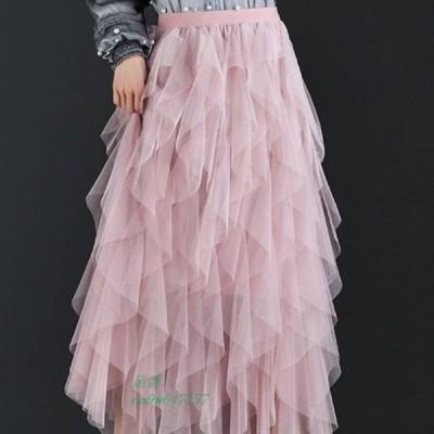 ロングスカート フレア ボトムス かわいい レディース ママファッション おしゃれ ファッション