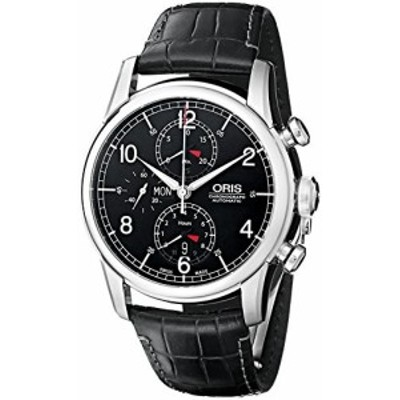 Orisメンズ77576864084set Raid Limited Analog Display Swiss Automatic Black Watch
