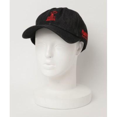 帽子 キャップ PEANUTS COLONEL WOODSTOCK DENIM BB CAP