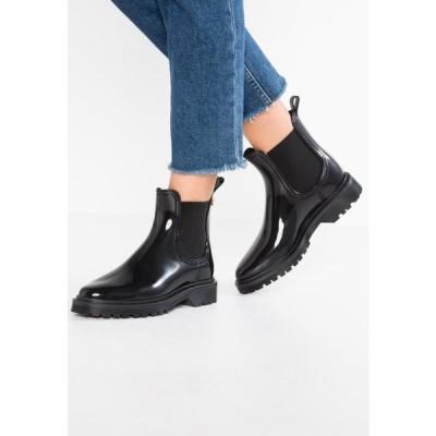 レモンジェリー レディース 靴 シューズ BLOCK - Wellies - black