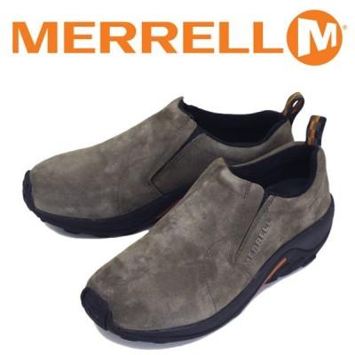 MERRELL (メレル) J60787 メンズ JUNGLE MOC ジャングルモック アウトドア レザーシューズ GUNSMOKE MRL003