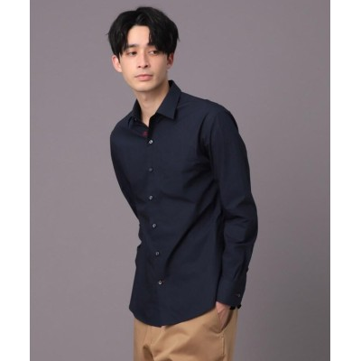 (DRESSTERIOR/ドレステリア)レギュラーカラー ベーシックシャツ/メンズ ダークネイビー(094)