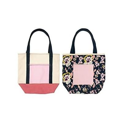 Large Reversible Canvas Tote Bag for Women, Heavy Duty Reusable Eco Bag, Fl