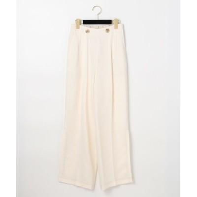 GRACE CONTINENTAL / トリアセカルゼワイドパンツ WOMEN パンツ > スラックス