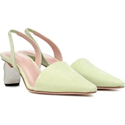 レジーナ ピヨ Rejina Pyo レディース パンプス シューズ・靴 conie suede slingback pumps Suede Green