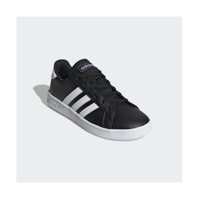 (adidas/アディダス)子供用 グランドコート [Grand Court Shoes]/キッズ ブラック