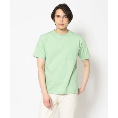 【アヴィレックス】 ポケット Tシャツ/ANTIBACTERIAL POCKET T-SHIRT メンズ MINT XL AVIREX