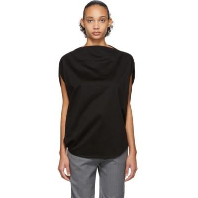 イッセイ ミヤケ Issey Miyake レディース Tシャツ トップス Black Unique T-Shirt Black