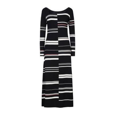 リビアナ コンティ LIVIANA CONTI ロングワンピース&ドレス ブラック 42 コットン 100% ロングワンピース&ドレス