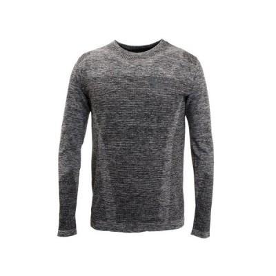 ザ・ワープ・バイ・エネーレ(The Warp By Ennerre) Tシャツ メンズ 長袖 CN JAQ Seamless WB32JB34 GRY オンライン価格 (メンズ)