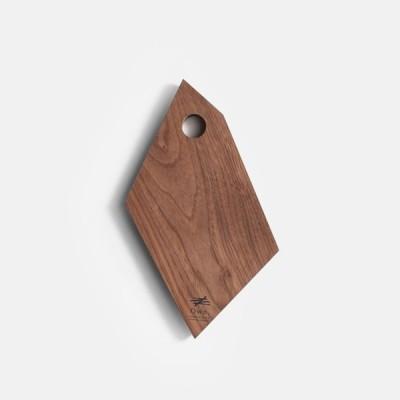Own. / Fragment Board size:S(Walnut)【メール便可 1点まで】[オウン/フラグメントボード/ウッドボード/カッティングボード/まな板/ウォールナット][113404