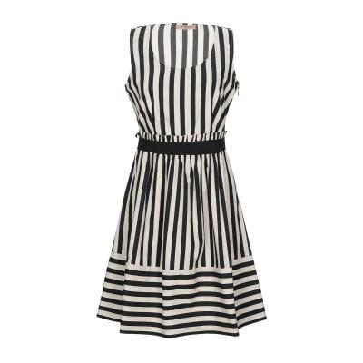 ツインセット シモーナ バルビエリ TWINSET ミニワンピース&ドレス アイボリー 46 コットン 100% ミニワンピース&ドレス