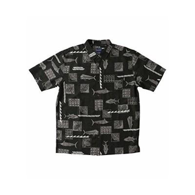 O ' NeillメンズJack O ' Neill kuaベイボタンアップ半袖シャツ US サイズ: XL カラー: ブラック