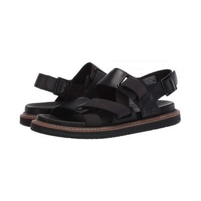 Keen キーン レディース 女性用 シューズ 靴 サンダル Lana Z-Strap Sandal - Black/Black