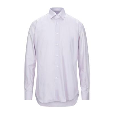 DEL SIENA シャツ ライラック 39 コットン 100% シャツ