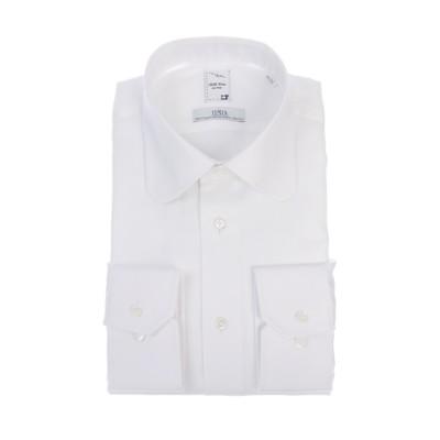 ラウンドカラースタイリッシュワイシャツ【プレミアム】