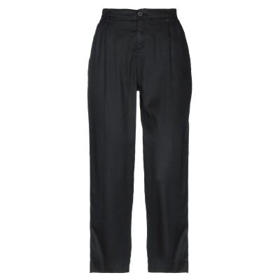 EUROPEAN CULTURE パンツ ブラック 31 リネン 58% / テンセル 24% / コットン 16% / ポリウレタン 2% パンツ