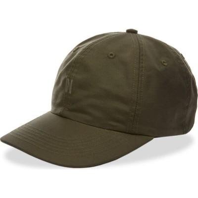 ノースプロジェクト Norse Projects メンズ キャップ 帽子 econyl sports cap Beech Green