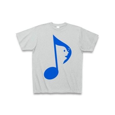 歌う音符B Tシャツ(グレー)
