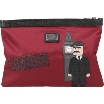 ドルチェ&ガッバーナ DOLCE & GABBANA メンズ ハンドバッグ バッグ handbag Maroon