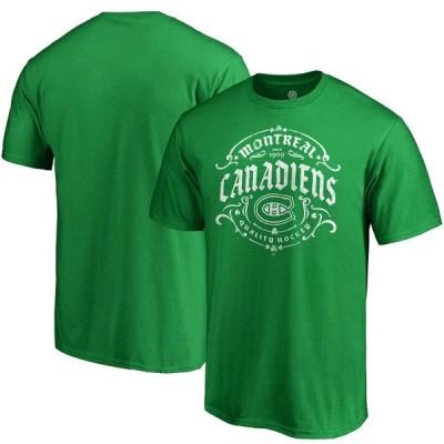 モントリオール・カナディアンズ Fanatics Branded St. Patrick's Day Tullamore T-シャツ - Green