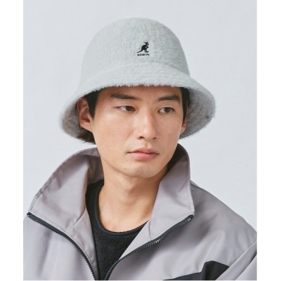 OVERRIDE / 【KANGOL×OVERRIDE】SYNTHETIC FURGORA CASUAL / 【カンゴール×オーバーライド】ファーゴラ カジュアル MEN 帽子 > ハット