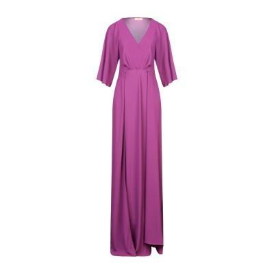 MAESTA ロングワンピース&ドレス モーブ 42 PES - ポリエーテルサルフォン 100% ロングワンピース&ドレス