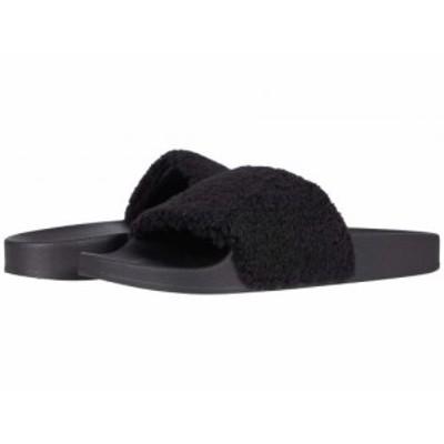 Steve Madden スティーブマデン レディース 女性用 シューズ 靴 サンダル Shear Slide Sandal Black【送料無料】
