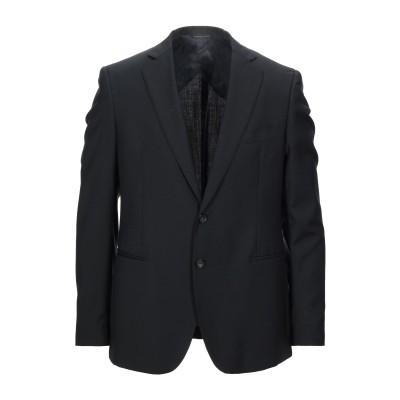 57 T テーラードジャケット ブラック 50 バージンウール 100% テーラードジャケット
