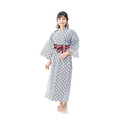 [キョウエツ] 浴衣セット 旅館浴衣 3点セット(旅館浴衣、帯、共紐) レディース (145, 02)