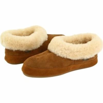 エーコーン Acorn レディース スリッパ シューズ・靴 Oh Ewe II Walnut Brown Sheepskin