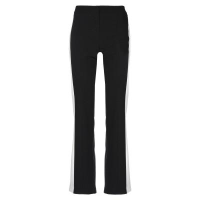 MARYLEY パンツ ブラック 46 ポリエステル 89% / ポリウレタン 11% パンツ