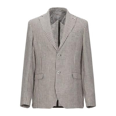 BARBATI テーラードジャケット ベージュ 46 リネン 70% / コットン 30% テーラードジャケット